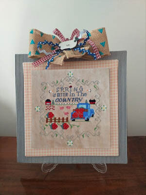 Better in the Country - Spring - Cross Stitch Pattern