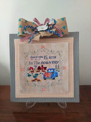 Better in the Country - Summer - Cross Stitch Pattern