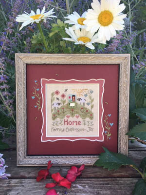 Thoughts of Home - Cross Stitch Pattern