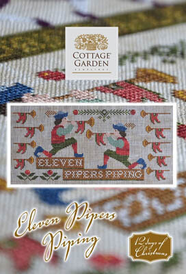 Eleven Pipers Piping - Cross Stitch Pattern