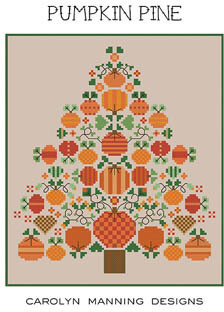 Pumpkin Pine - Cross Stitch Pattern