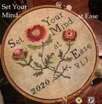 Set Your Mind at Ease - Cross Stitch Pattern