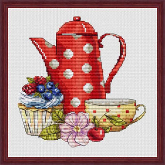 Sweet Breakfast 2 - Cross Stitch Pattern
