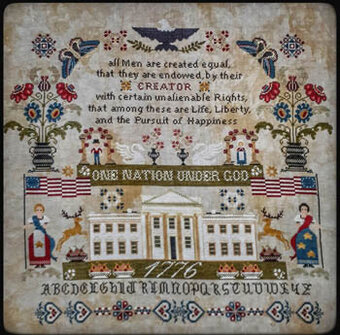 One Nation Under God - Cross Stitch Pattern