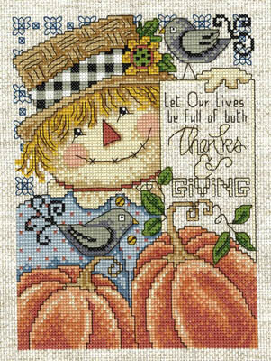 Full of Thanks and Giving - Cross Stitch Pattern