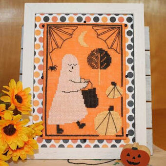 Ghostie Goodies - Cross Stitch Pattern