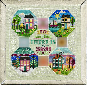 Every Season Yearlong 5 - Winter - Cross Stitch Pattern