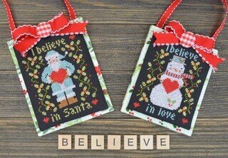I Believe in Christmas - Cross Stitch Pattern