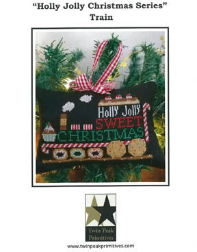 Train - Holly Jolly Christmas Series - Cross Stitch Pattern