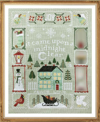 Christmas Dreams Part 4 - Cross Stitch Pattern