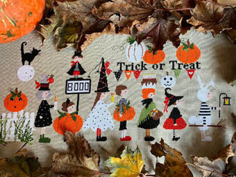 Trick or Treat - Cross Stitch Pattern