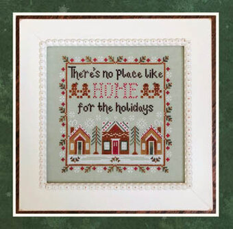 Home for the Holidays - Cross Stitch Pattern