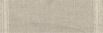 27 Count Natural Linen Banding w/Pyramid Design 7.8x18