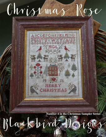 Christmas Rose - Cross Stitch Pattern