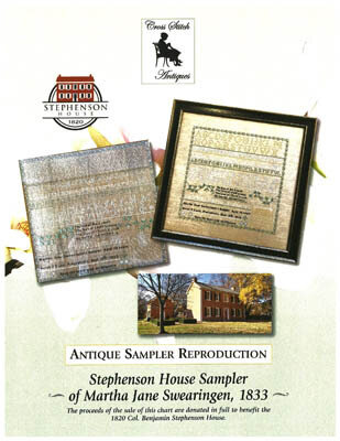 Stephenson House Sampler  - Cross Stitch Pattern