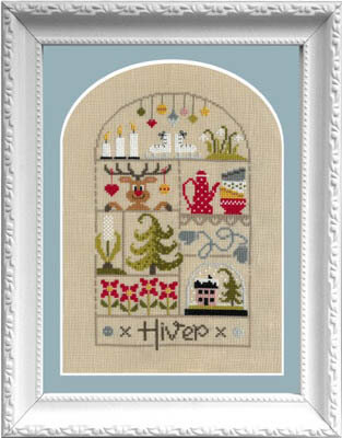 Petits Moments de L'Hiver - Cross Stitch Pattern