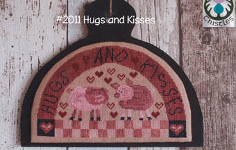Hugs and Kisses - Cross Stitch Pattern