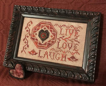 Quaker Love Letter - Cross Stitch Pattern