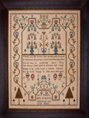 Lucy Kerby 1805 - Cross Stitch Pattern