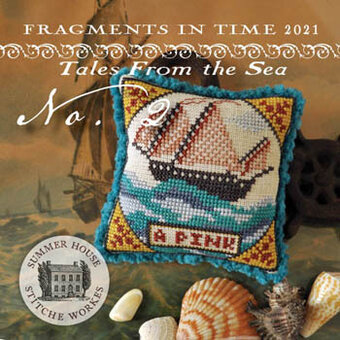 Fragments in Time 2021 - No 2 - Cross Stitch Pattern