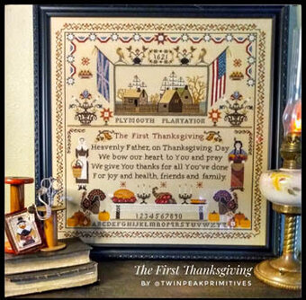 First Thanksgiving - Cross Stitch Pattern