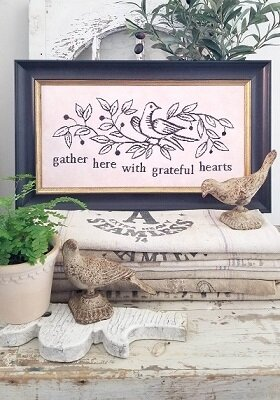 Gather Here - Cross Stitch Pattern