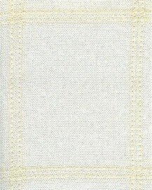 Fireside Afghan Antique White / Ivory - 35 Squares