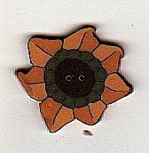 Small Sunflower - Button