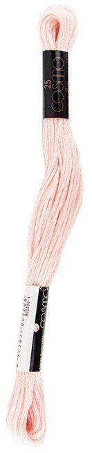 Cosmo Cotton Embroidery Floss 8m - Soft Pink