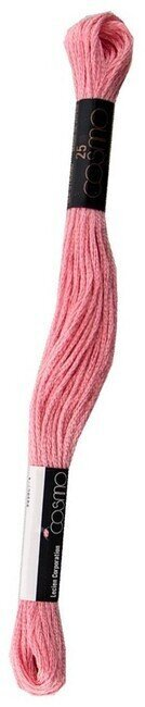 Pink - Cosmo Cotton Embroidery Floss 8m