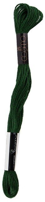 Dark Artichoke Green - Cosmo Cotton Embroidery Floss 8m