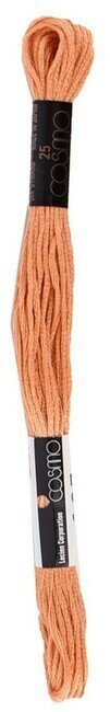 Cosmo Cotton Embroidery Floss 8m - Light Yellowish Brown