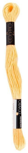 Cosmo Cotton Embroidery Floss 8m - Buff Yellow
