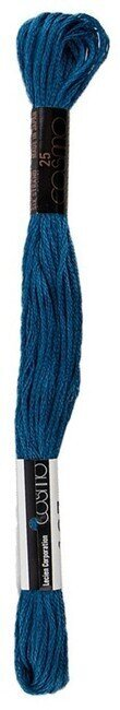 Cosmo Cotton Embroidery Floss 8m - Blue