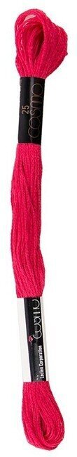 Light Orient Red - Cosmo Cotton Embroidery Floss 8m