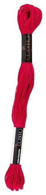 Cosmo Cotton Embroidery Floss 8m - Orient Red