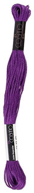 Plum - Cosmo Cotton Embroidery Floss 8m