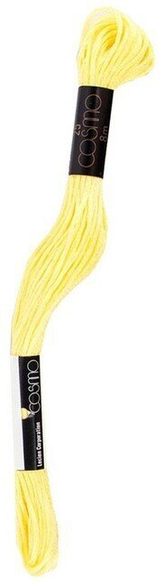 Cosmo Cotton Embroidery Floss 8m - Empire Yellow