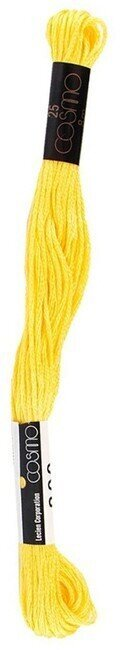 Lemon - Cosmo Cotton Embroidery Floss 8m