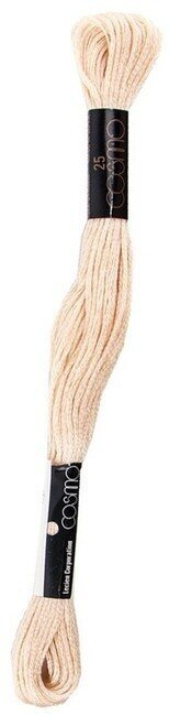 Straw - Cosmo Cotton Embroidery Floss 8m