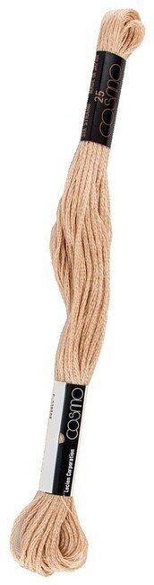 Cosmo Cotton Embroidery Floss 8m - Deep Straw