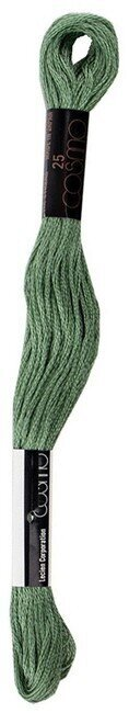 Jade Green - Cosmo Cotton Embroidery Floss 8m