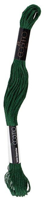 Dark Garden Green - Cosmo Cotton Embroidery Floss 8m
