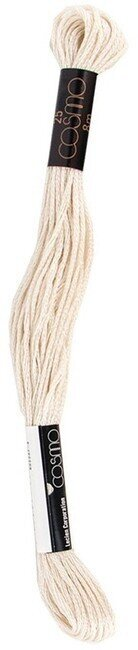 Dark Oyster White - Cosmo Cotton Embroidery Floss 8m