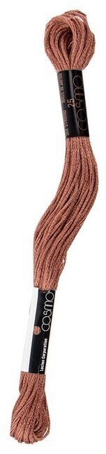Cosmo Cotton Embroidery Floss 8m - Light Teak Grayish Brown