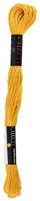 Vivid Old Gold - Cosmo Cotton Embroidery Floss 8m