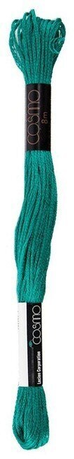 Dull Green - Cosmo Cotton Embroidery Floss 8m
