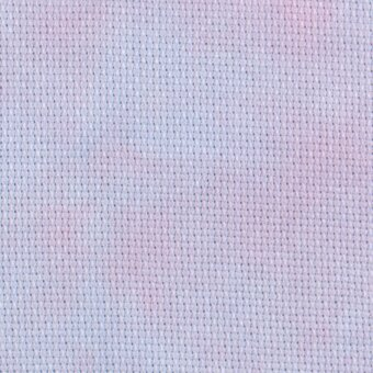 14 Count Mixed Berry Jobelan Aida Fabric 8x12
