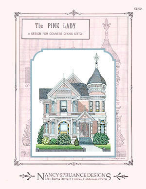 Pink Lady - Cross Stitch Pattern