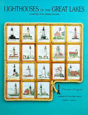 Lighthouses Of The Great Lakes - Cross Stitch Pattern